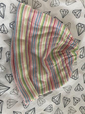 Bawelniana czapeczka dla noworodka