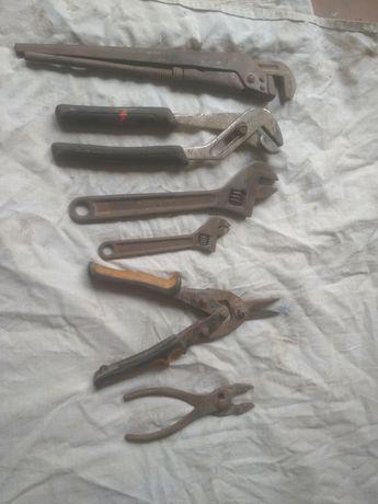інструменти Ударна викрутка розвідний газовий ключ тріщттка ножниці