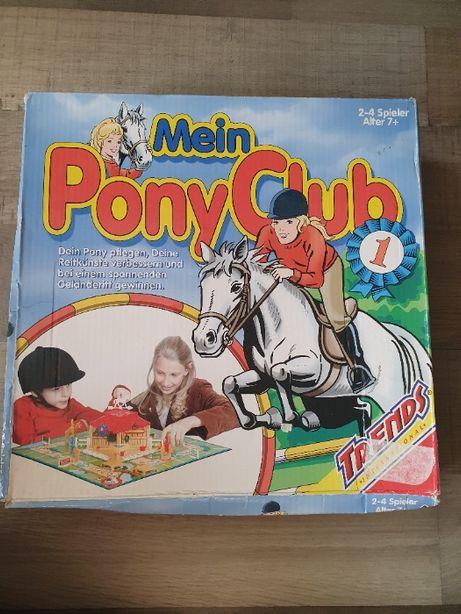 Игра Пони клуб Pony Club от Noris лошади скачки настольная детская