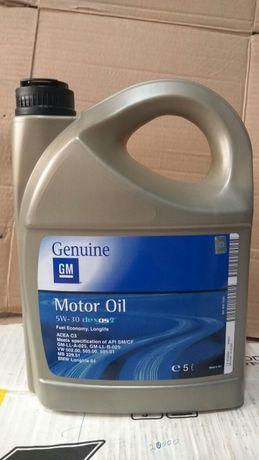 Масло GM 5w30-синтетика