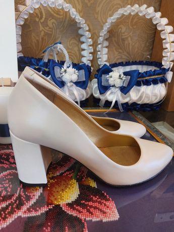 Туфли белые свадебные Чернигов