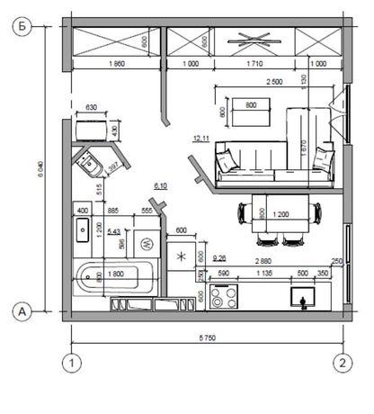 Продам  1-комнатную видовую квартиру в ЖК Британский квартал