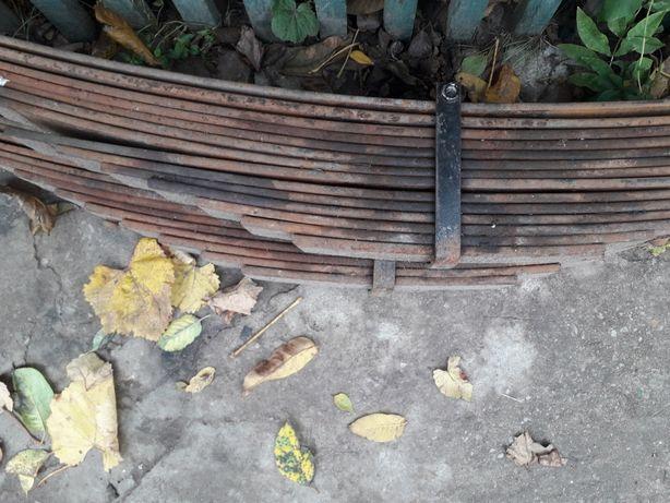 Передние ресоры на камаз