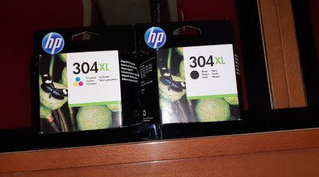 Conjunto Tinteiros Originais HP 304 XL