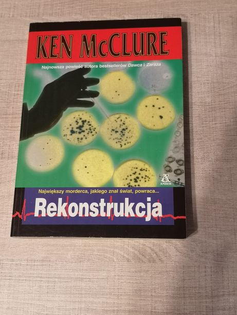 Książka - Rekonstrukcja Ken Mcclure
