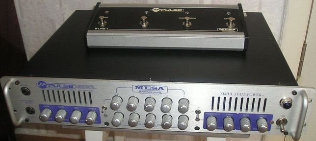 Mesa Boogie M-Pulse / SWR SM500, 900 (USA) бас голова