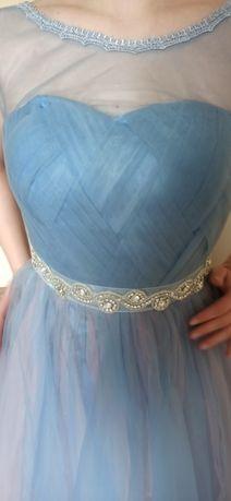 Nowa suknia maxi rozm. XS/S wesele