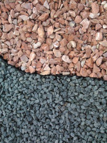 Pedra Decorativa Brita Basalto Preto 148€/T