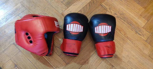 Kamakura Reyvel бокс кікбоксинг перчатки шлем