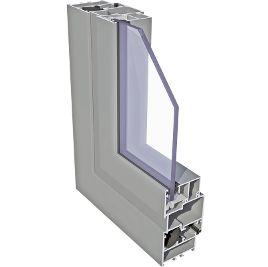 Drzwi aluminiowe zimne ECONOLINE 1200 x 2100