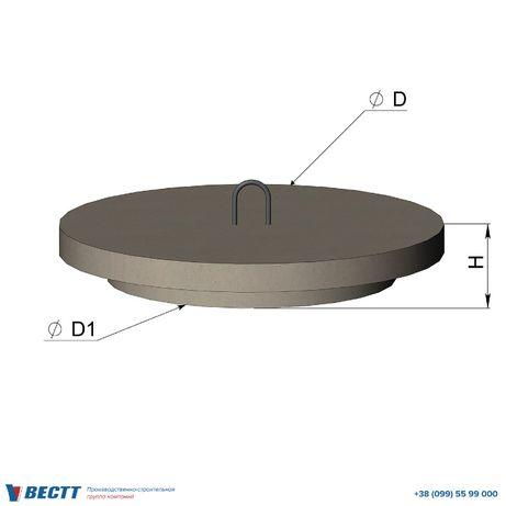 Крышка люка ЖБИ (110 кг)