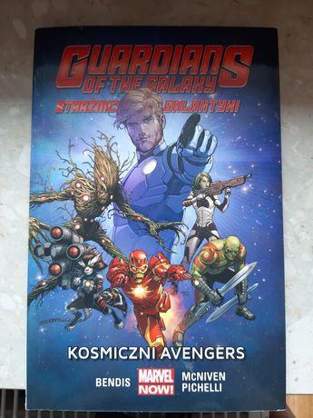 Komiks Strażnicy Galaktyki - Kosmiczni Avengers