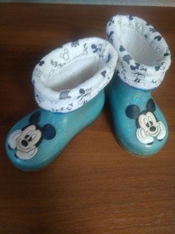 Резиновые сапожки Disney оригинал