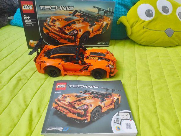LEGO technik 92093 Chevrolet Corvette 2w1 i Hot Rod
