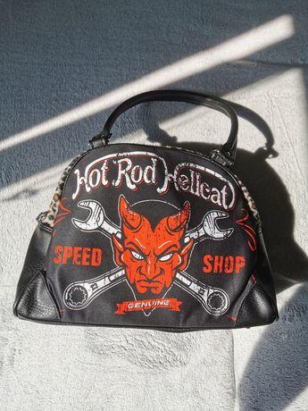 Sprzedam torebkę motocyklowo-rockowa