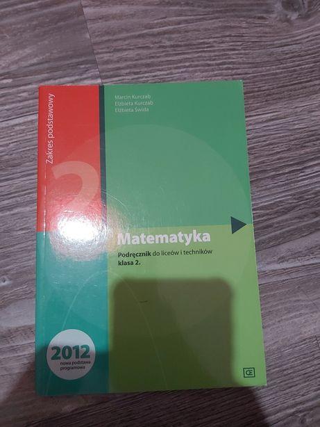 Matematyka 2 , podręcznik do liceów i techników!! Nowe !!