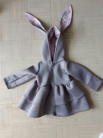 Płaszczyk wiosenny królik 92