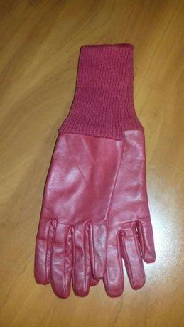Rękawiczki skórzane (rozmiar 6,5)