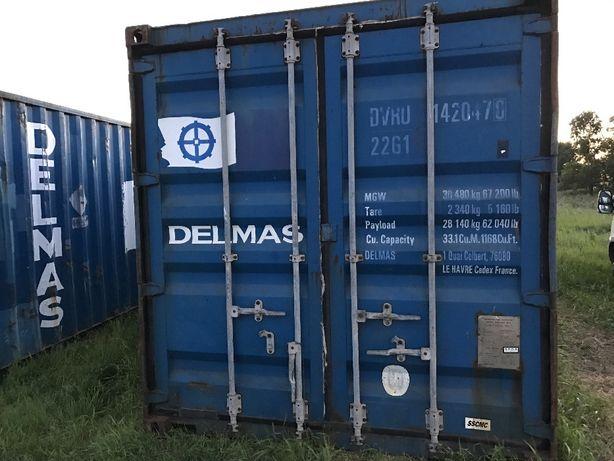 Kontener kontenery morski magazynowy 20 DV 6m 5400 PLN