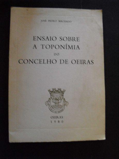 Machado (José Pedro) Toponímia do Concelho de Oeiras