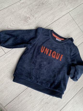 Welurowa bluza TAPE A L'OEIL r. 68
