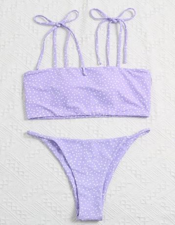 Bikini lilás (Shein)