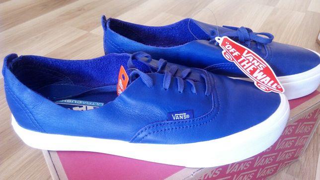 Vans Niebieskie GRATIS! 38,5 Oryginalne Trampki Sneakersy Buty Niskie
