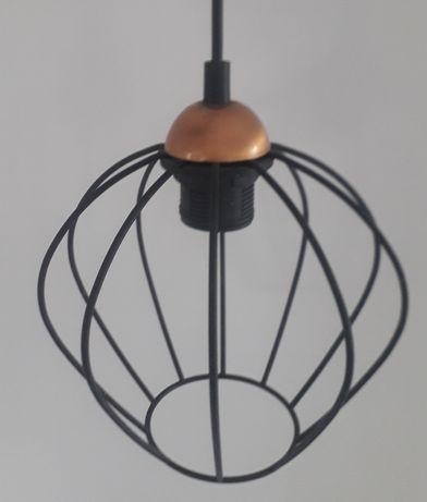 Lampa wiszaca metalowa do salonu jadalni sypialni