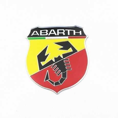 Placa de Metal ABARTH