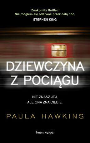 Książka DZIEWCZYNA Z POCIĄGU Paula Hawkins nowa