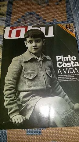 revista sobre Pinto da Costa porto