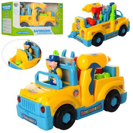 Машинка разборная TOOL TRUCK (детские инструменты)
