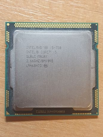 Intel Core i5-750 2.66GHz/8MB/1333MHz + Кулер