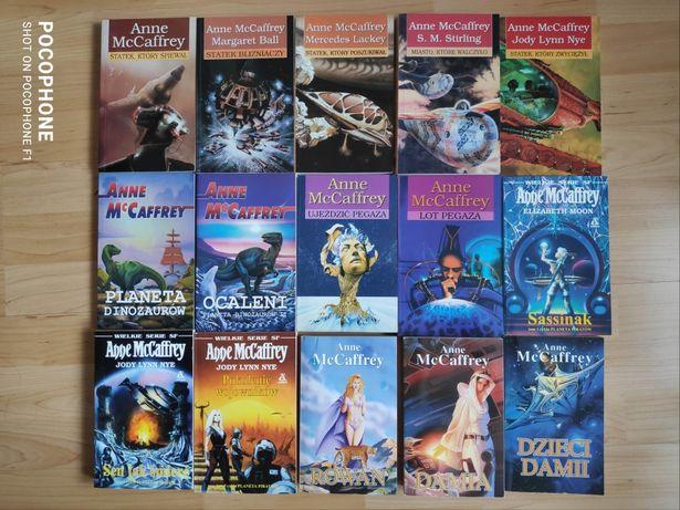 Anne McCaffrey Statek Planeta piratów dinozaurów Pegaz Damia Rowan