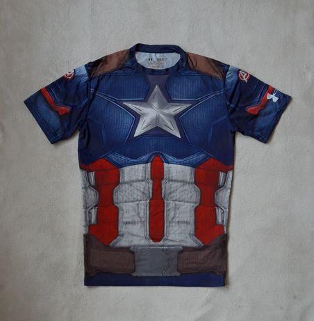Under Armour Captain America  koszulka compresynja męska r. XL