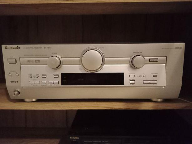 amplituner Panasonic + głośniki, kino domowe