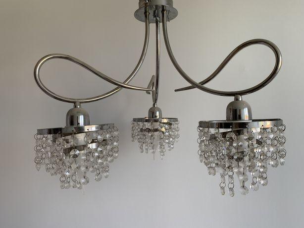 Lampa 3xE14 imitacja kryształów