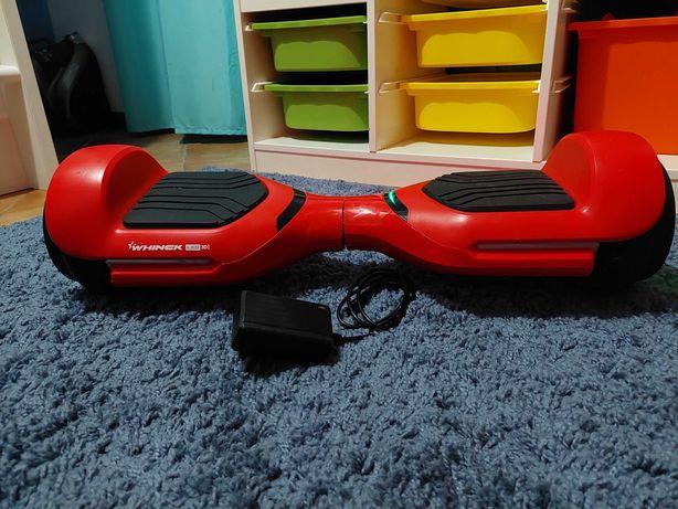 Hoverboard Whinck 3D LED 6.5 Vermelho