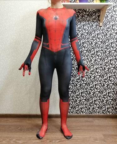 Карнавальный костюм Спайдер Мен Spider Человек паук