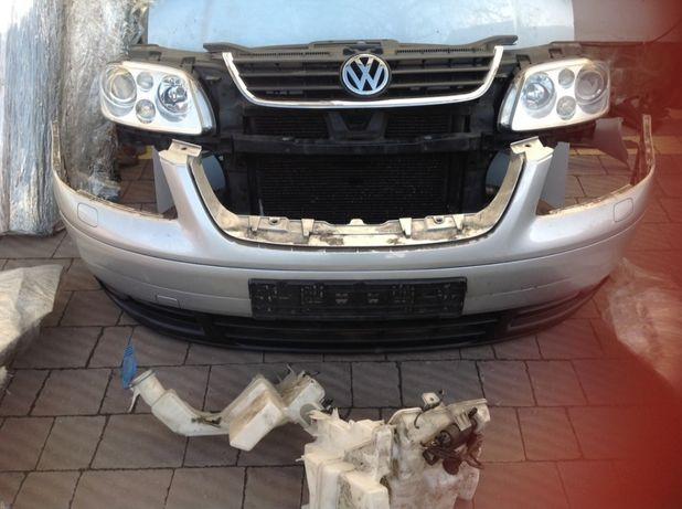 Передній бампер до VW CADDY,TOURAN 2005-2013