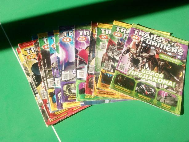 Продам 13 журналов Трансформеры