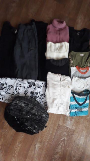 вещи женские 46р футболка штаны юбка свитер мастерка кофта
