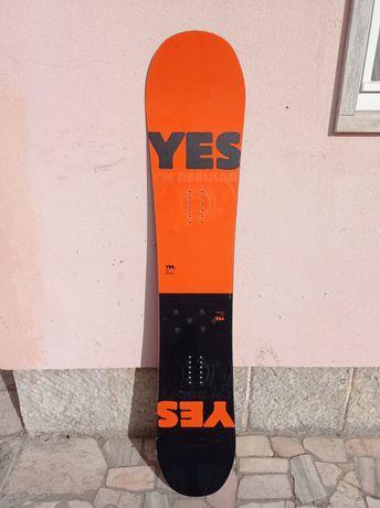 Prancha Snowboard YES