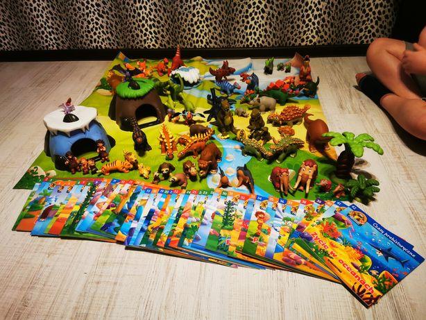 Kolekcja dinozaur plus książki