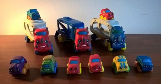 Camiões e carros