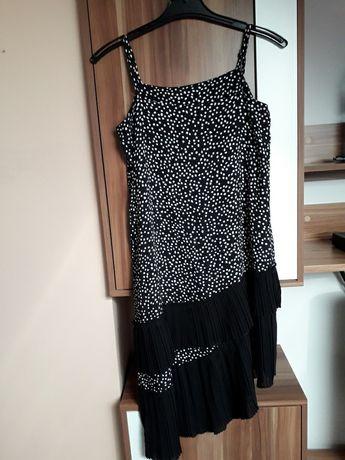 H&M 36 sukienka asymetryczna
