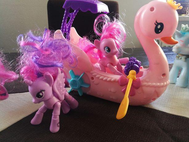 My little pony kucyki łabędzia łódka książka maskotka skarbonka worek