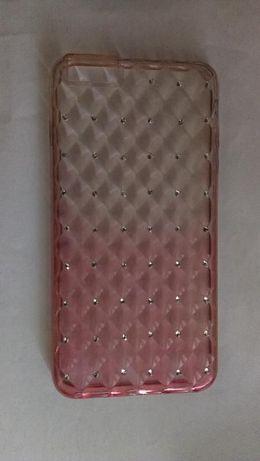 Бампер(чохол) силиконовый c камешками, стразами для Iphone