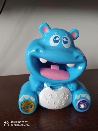 Hipopotam dumel zabawka grająca