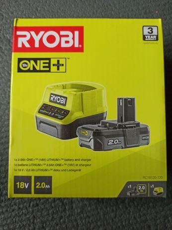 Ryobi Akumulator 18V 2.0 Ah i ładowarka ONE+ LiIon